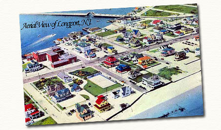 Longport N.J. postcard.